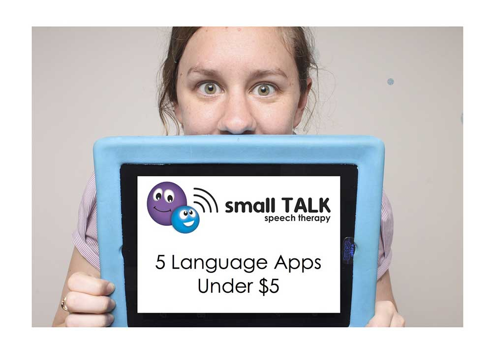 Small TALK Speech Therapy - Language Apps