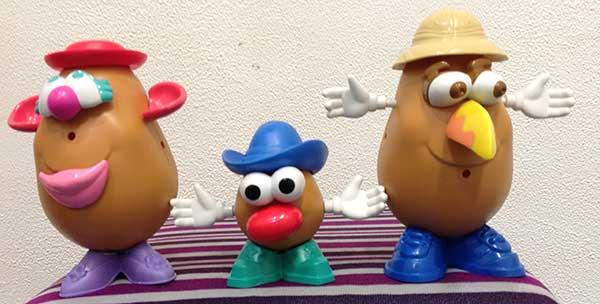 Small TALK Speech Therapy + Potato Pronoun