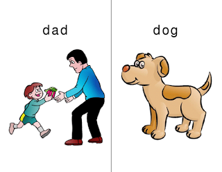 Dad/Dog - Small TALK speech therapy