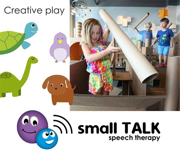 Pretend Play - Small TALK speech therapy