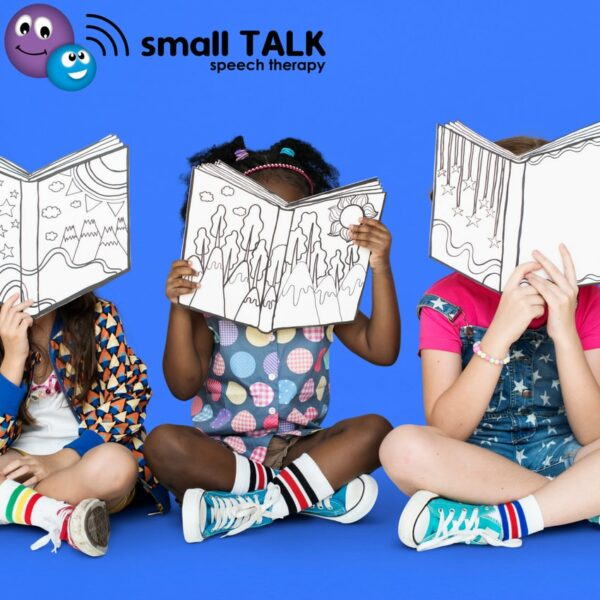 Small TALK Speech Therapy + Book Reading