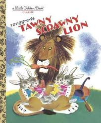 Tawny Scrawny Lion Book Cover
