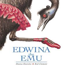 Edwina the Emu book cover