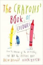 The Crayon's book of colours cover photo