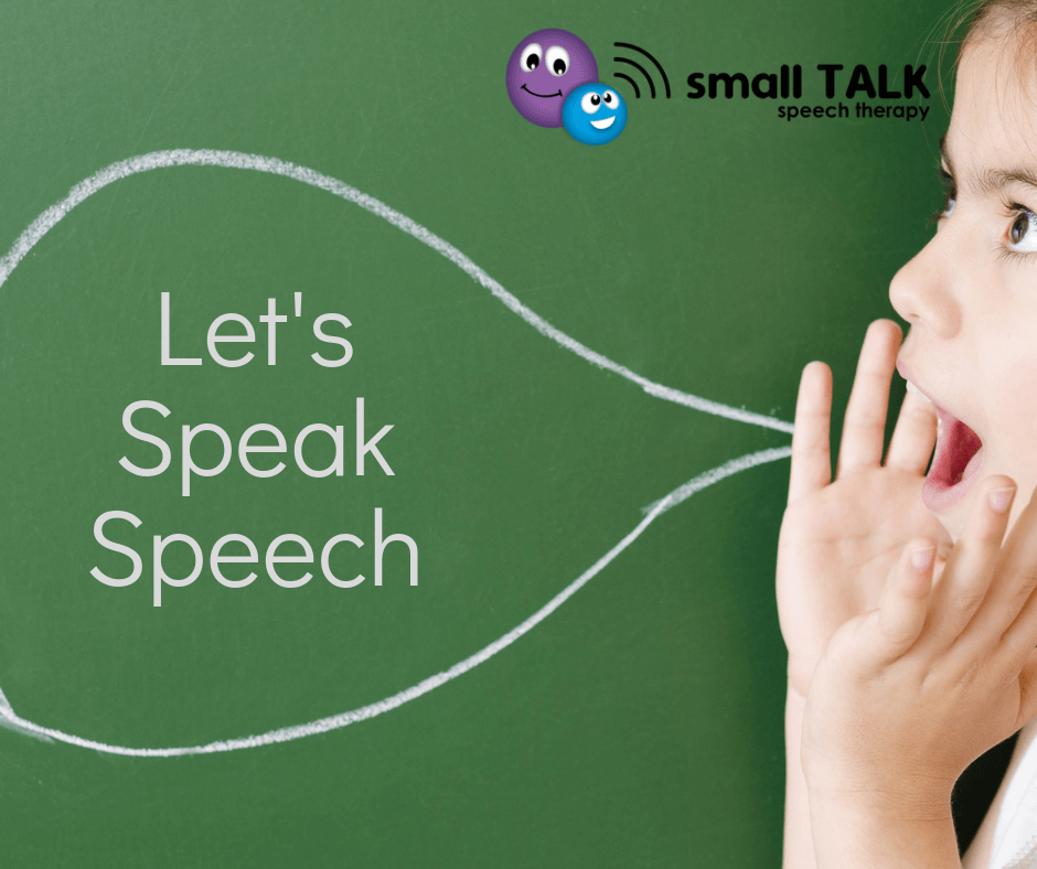 Let's Speak Speech
